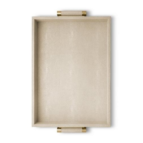 aerin wheat serving tray