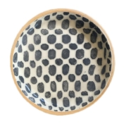 terrafirma ceramics wine coaster charcoal